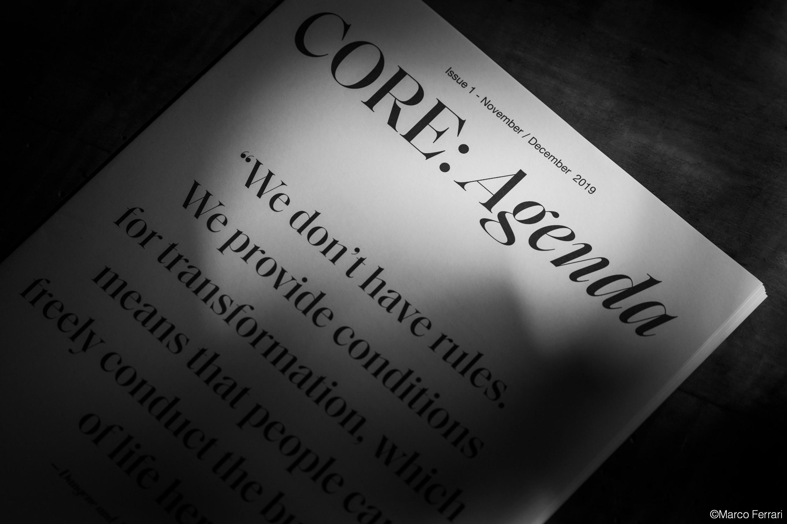core agenda magazine