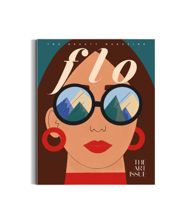 FLO cover front